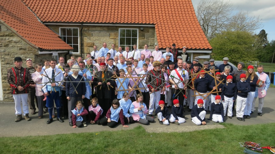 Traditional Sword Dance teams In Goathland